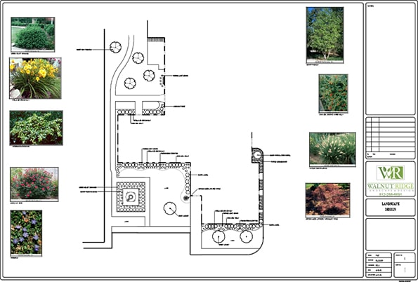 landscape design blueprint